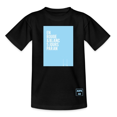 AUPA-ABdèle-1 - T-shirt Ado