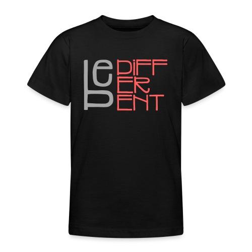 Be different - Fun Spruch Statement Sprüche Design - Teenager T-Shirt