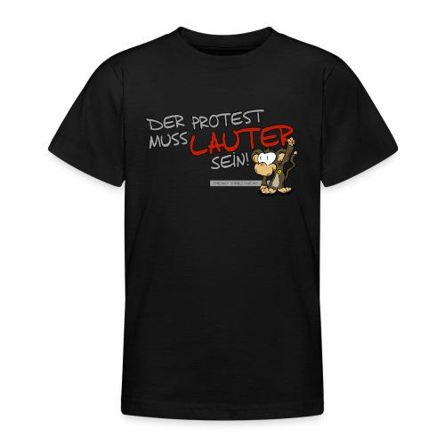 Protest-Äffchen1 - Teenager T-Shirt