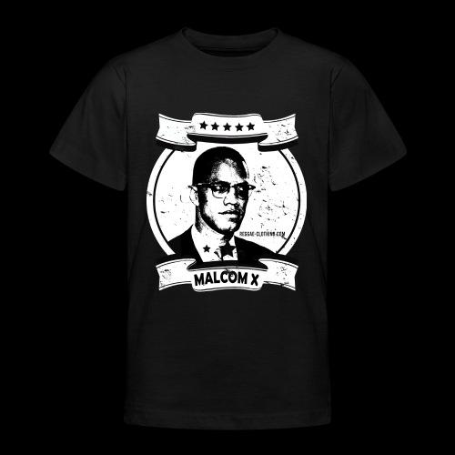Malcom X Classic - Teenager T-Shirt