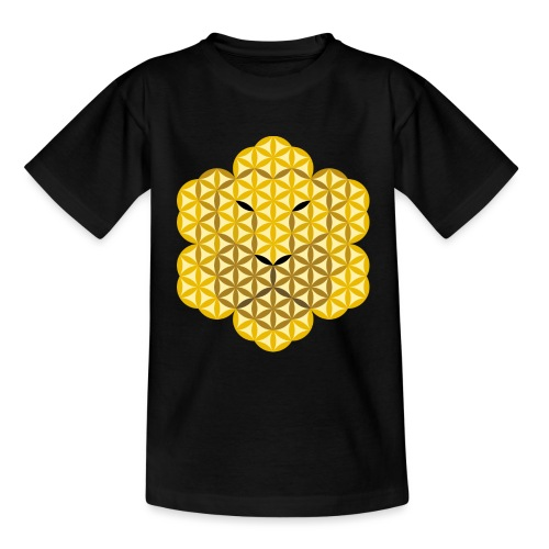 The Lion Of Life - Alpha Male, Mane 01. - Teenage T-Shirt
