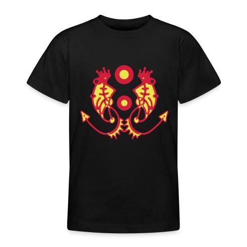 Tribal T-Shirt Design - Teenager T-Shirt