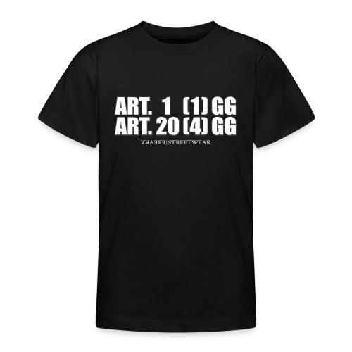 Artikel 1& Artikel 20 - Teenager T-Shirt