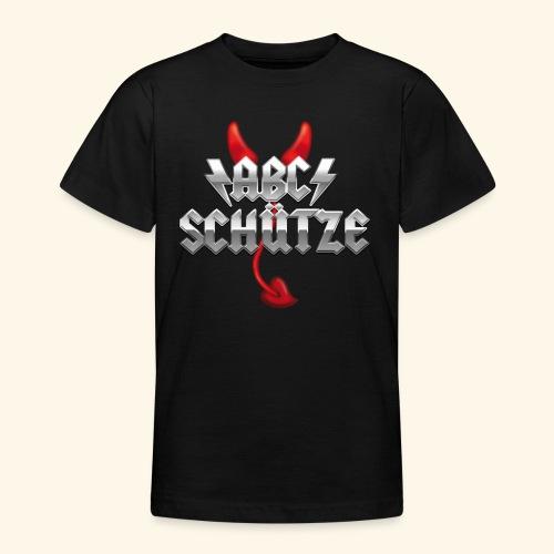 ABC-Schütze T-Shirt - Geschenk zum ersten Schultag - Teenager T-Shirt