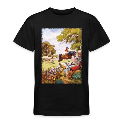 Thelwell Cartoon Pony Turnier - Teenager T-Shirt