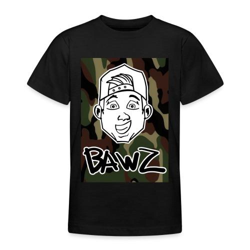 Bawz gezicht camo - Teenager T-shirt