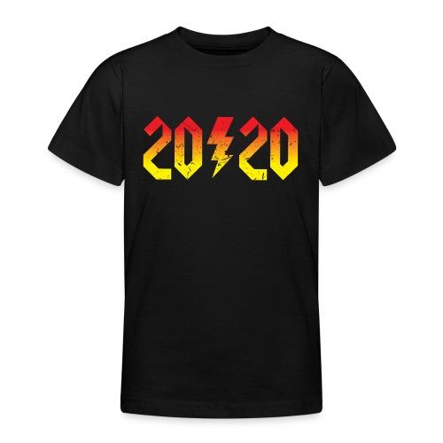 2020 rockiges Jahr - Teenager T-Shirt