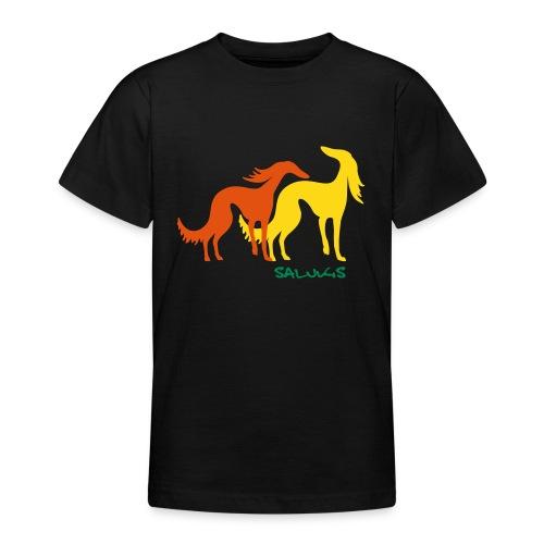 salukis couple txt - T-shirt Ado