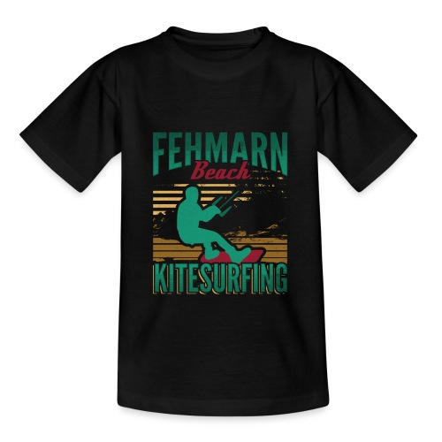 Kitesurfing Fehmarn - Teenager T-Shirt
