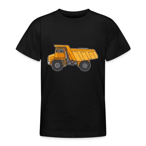 Kipplaster, Muldenkipper - Teenager T-Shirt