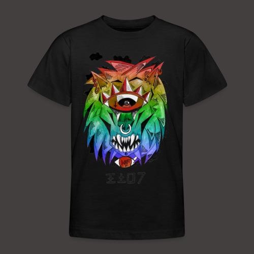 lion multi-color - T-shirt Ado