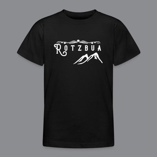 Rotzbua Weiß - Teenager T-Shirt