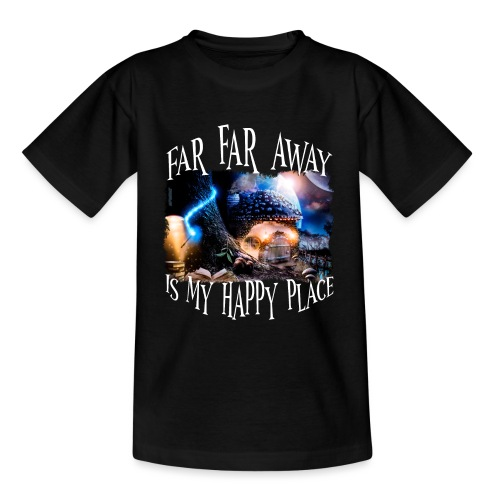 My Happy Place - Teenager T-shirt