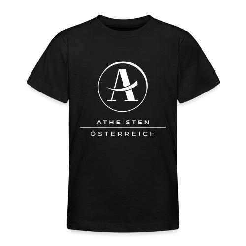 Logo Weiß - Teenager T-Shirt