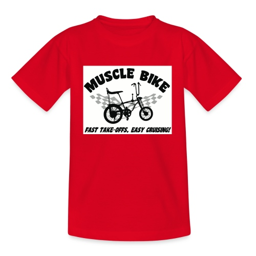 musclebike04 - T-shirt Ado