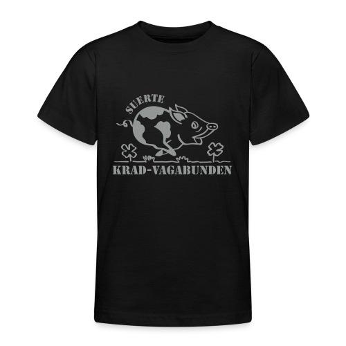 Krad-Vagabunden Glücksschwein V2 - Teenage T-Shirt