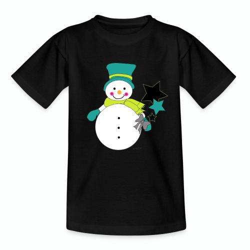 Snowtime-Green - Teenager T-Shirt