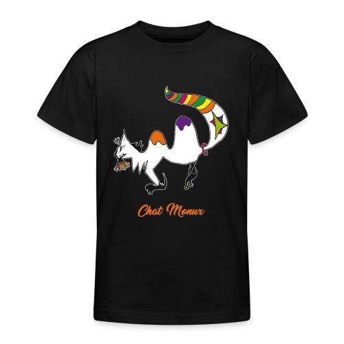 Chat Monux - T-shirt Ado