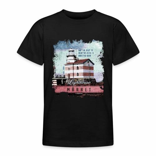 Märket majakkatuotteet, Finland Lighthouse, väri - Nuorten t-paita
