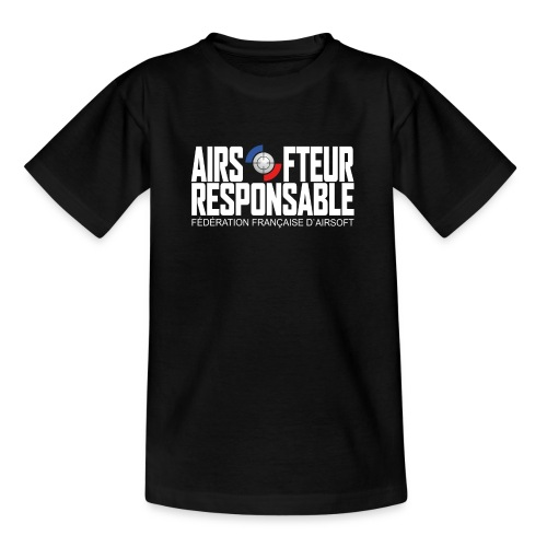 Airsofteur Responsable - T-shirt Ado