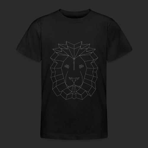 Geometric Lion Mens T-shirt - Teenage T-Shirt