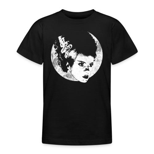 Bride Of Frankenstein White - Teenage T-Shirt