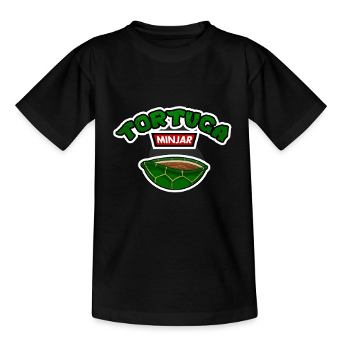Tortuga Minjar - T-shirt Ado