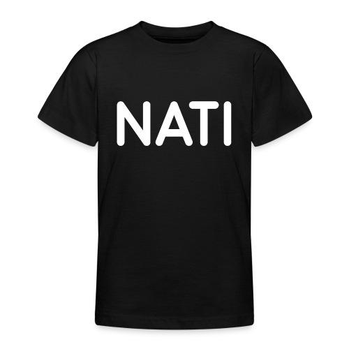 NATI Original - Hvid - Teenager-T-shirt