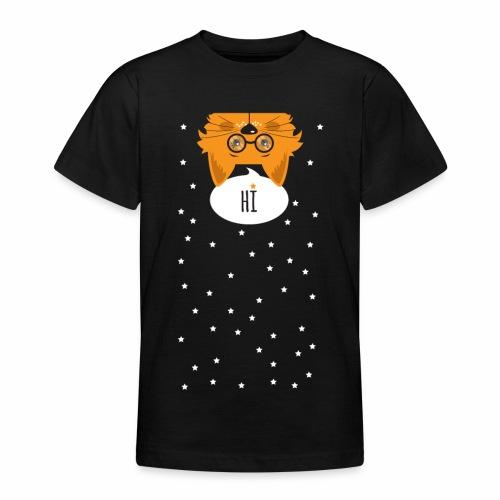Katze sagt: HI - Teenager T-Shirt