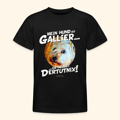 Hunde T-Shirt witziger Spruch für Hundehalter - Teenager T-Shirt