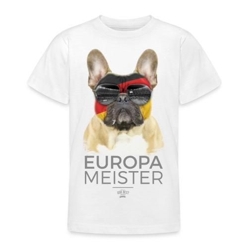 Europameister Deutschland - Teenager T-Shirt