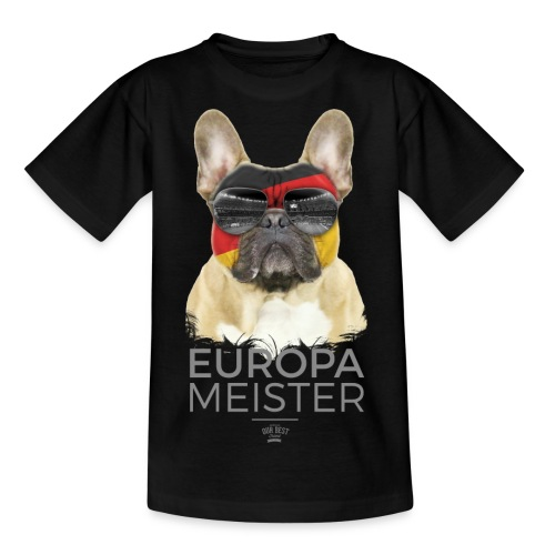 Europameister Deutschland - Teenager T-Shirt