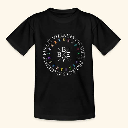 BVBE Charity Projects x factor white Charlemagne T - Teenage T-Shirt