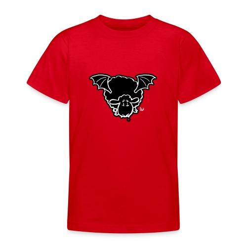 Vampire Sheep (white) - Teenage T-Shirt