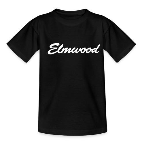 elmwood logo clean - Teenage T-Shirt