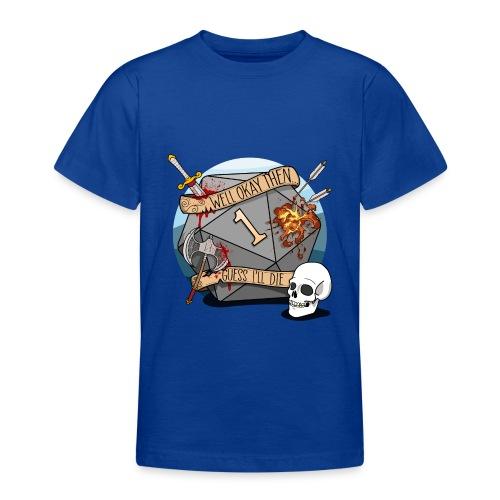 Arvelen kuolen - DND D & D Dungeons and Dragons - Nuorten t-paita