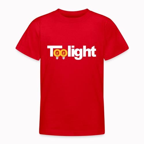 toolight on - Maglietta per ragazzi