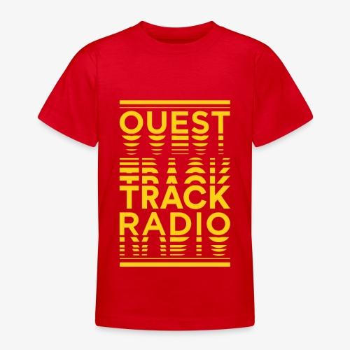 Logo Vertical Grand Jaune - T-shirt Ado