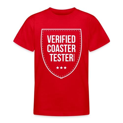 Badge CoasterTester vérifié - T-shirt Ado