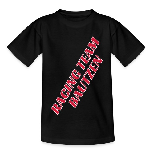 LOGO_gross_hinten - Teenager T-Shirt