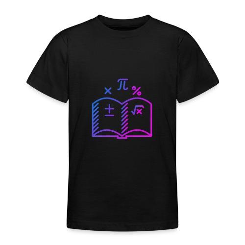 Wiskunde Boek - Teenager T-shirt
