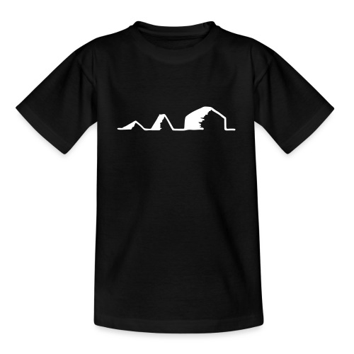 Schwarzzeltevolution - Teenager T-Shirt