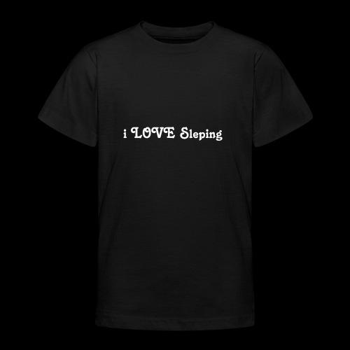 i love sleeping weiss - Maglietta per ragazzi