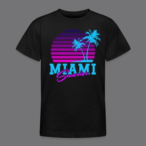 MIAMI SUNRISE t-shirts - Teenage T-Shirt
