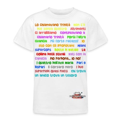Titoli - Maglietta per ragazzi