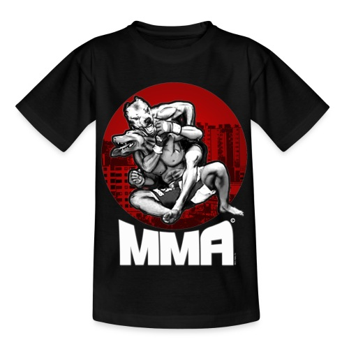 mma pitbull fittja - T-shirt tonåring