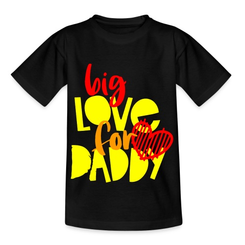 BIG LOVE FOR DADY - T-shirt Ado