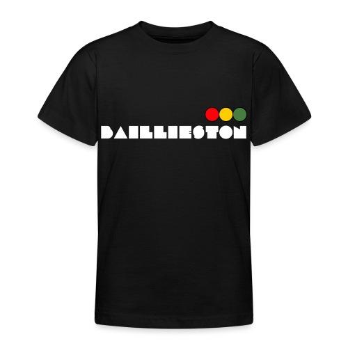 baillieston white - Teenage T-Shirt