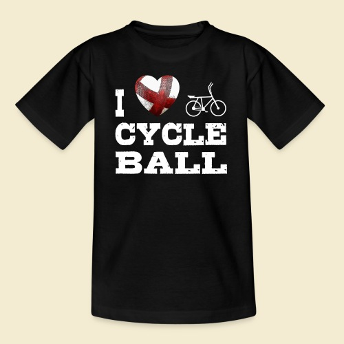 Radball | I Love Cycle Ball - Teenager T-Shirt