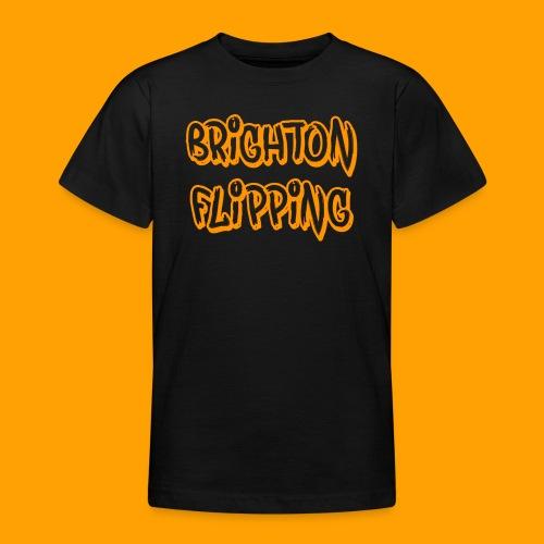 Classic Brighton Flipping - Teenage T-Shirt